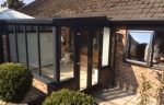 grey leanto conservatory