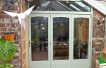 red internal accoya bifolds