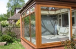 Timber look uPVC orangery in West Kirby, Wirral