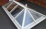 Glazed lantern roof