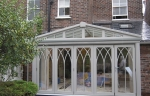 gothic grey conservatory