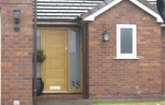 Accoya softwood front door