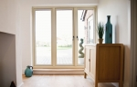 R9 (Residence 9) timber effect patio doors