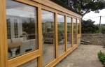 Green oak accoya exterior