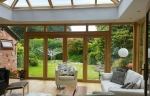 Accoya Timber Orangery with Lantern Roof