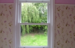 Accoya wood tilt and slide sash window - interior