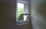 Accoya wood tilting sash window
