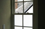 Hardwood sash windows - interior