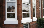 Accoya wood white sash windows in Cheshire conservation area