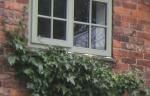 Timber windows in Chartwell Green