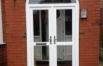 upvc arched porch door