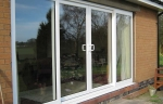 uPVC sliding glass patio doors
