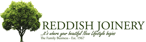 The Reddish Joinery logo