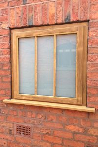 Accoya wood timber window