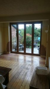 Accoya timber bifold doors