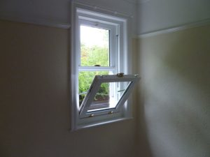 Timber tilt and slide sash windows