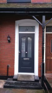 Black RockDoor Composite door
