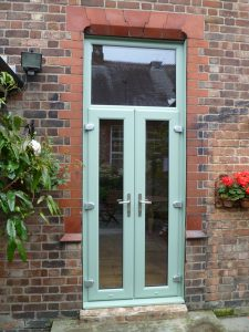 Chartwell Green uPVC double patio doors