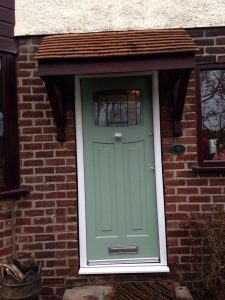 RockDoor chartwell green front door
