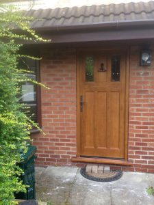 Timber Accoya front door