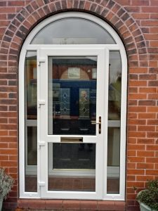 uPVC arched porch