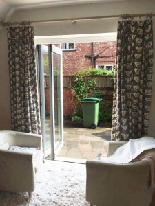 Accoya uPVC bifold doors
