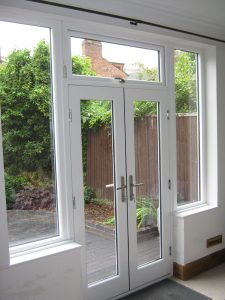 Accoya wood French doors