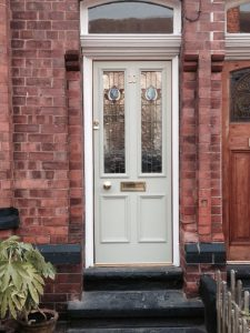 Accoya wood timber front door