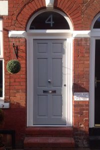 Accoya wood timber door