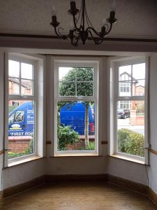 Accoya wood mock sash windows