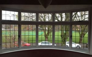 Accoya wood timber bow windows