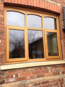 Accoya wood oak timber windows