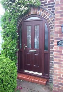 Arched RockDoor composite door