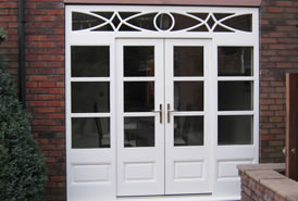 Bespoke timber patio doors