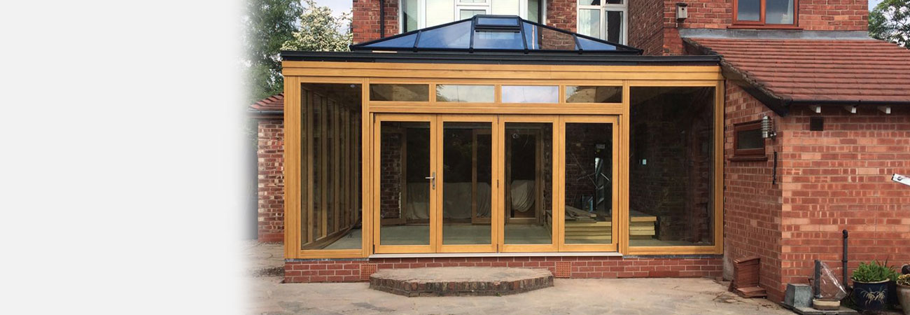 Orangery Timber bifold door