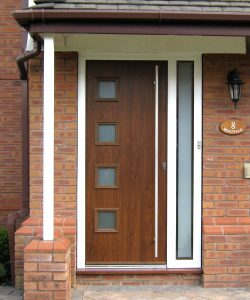 Safeguard composite door