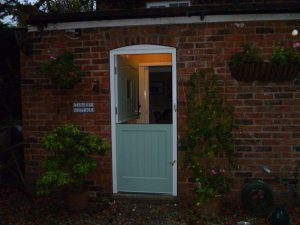 Hardwood timber stable door