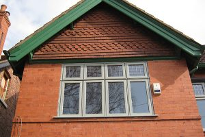 Hardwood top hung timber windows