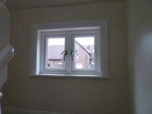 Hardwood timber windows