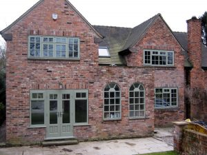 Hardwood timber windows and doors
