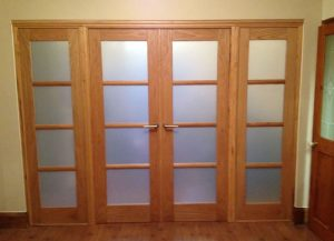 Internal timber doors