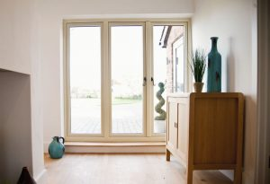 Residence 9 patio doors