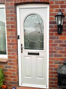 Reddish safeguard composite door