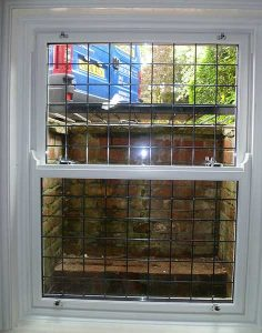 Timber sliding sash window installation