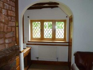 Vertical Accoya windows