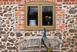 Timber effect windows for homes in Cheshire
