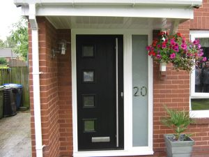 Solidor entrance composite dor