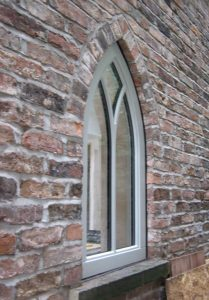 Timber Gothic arch windows
