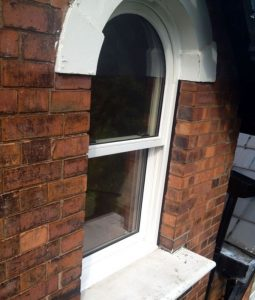 Bespoke timber sliding sash window