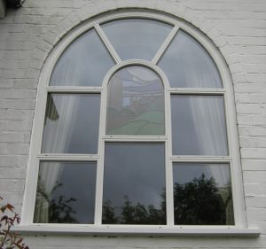Timber stained glass windows